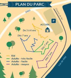plan du parc le baudrillé